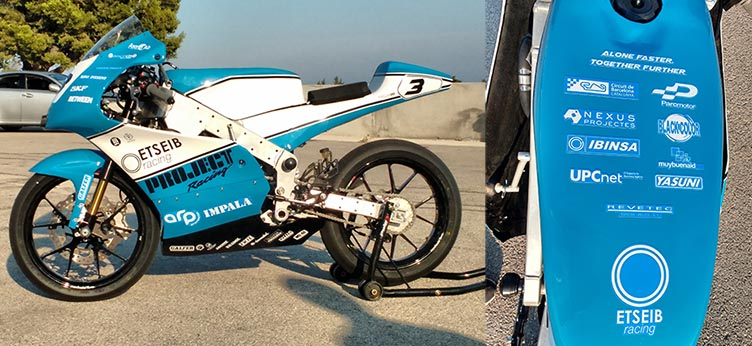 Prototipo moto ER16
