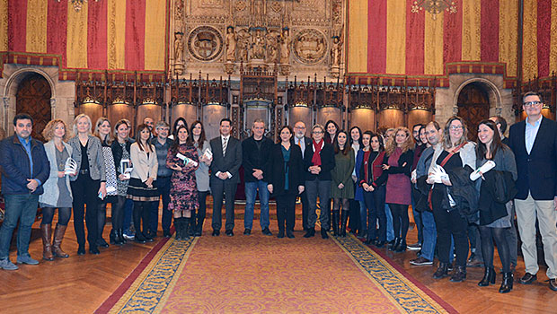 Lliurament V Premi Barcelona a l'Empresa Innovadora en Conciliació i Temps