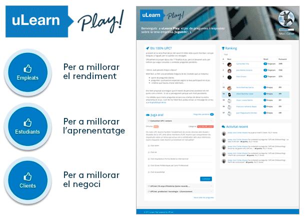 uLearn Play! és una excel·lent eina de gamificació