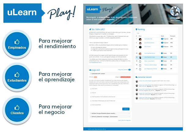 uLearn Play es una excelente herramienta de gamificación
